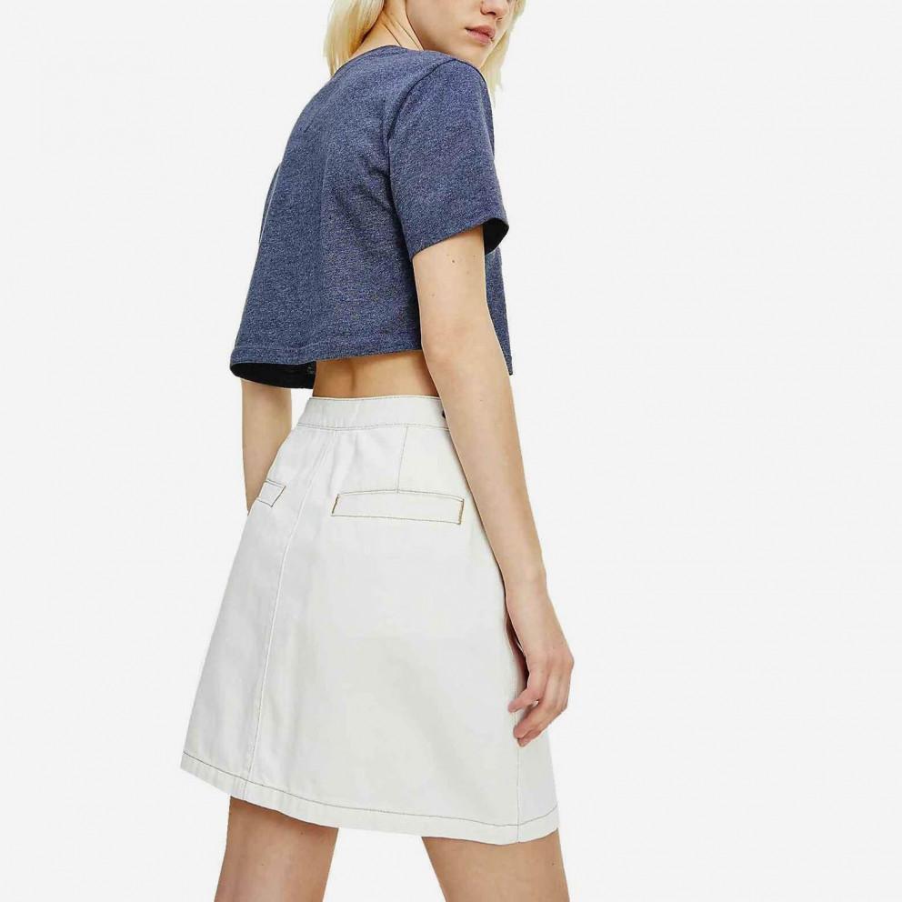 Tommy Jeans Super Flag Repeat Women's Crop T-shirt
