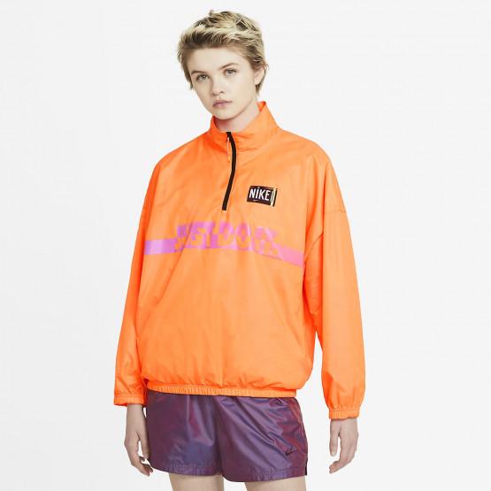 Nike Sportswear Woven Pullover Γυναικεία Ζακέτα