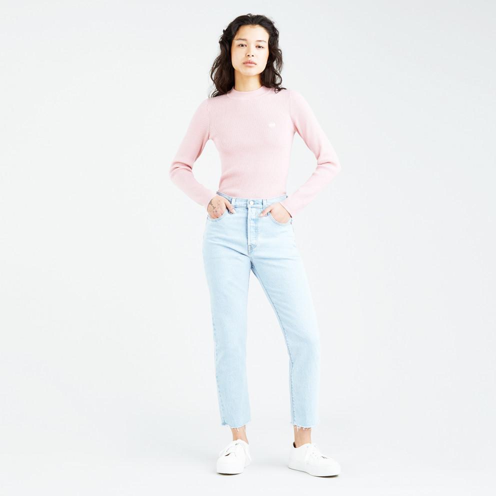 Levi's Rib Crew Coral Blush Women's Long Sleeve T-shirt