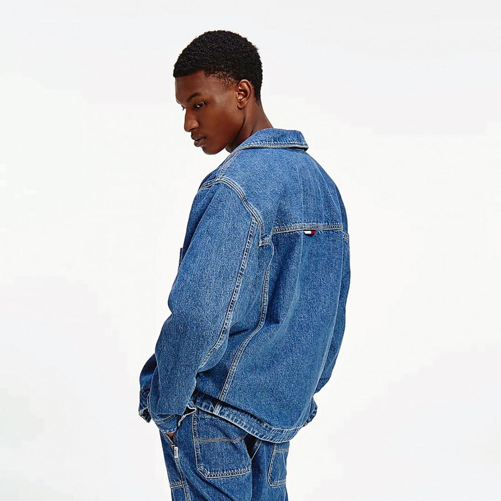 Tommy Jeans Boxy Denim Men's Shirt