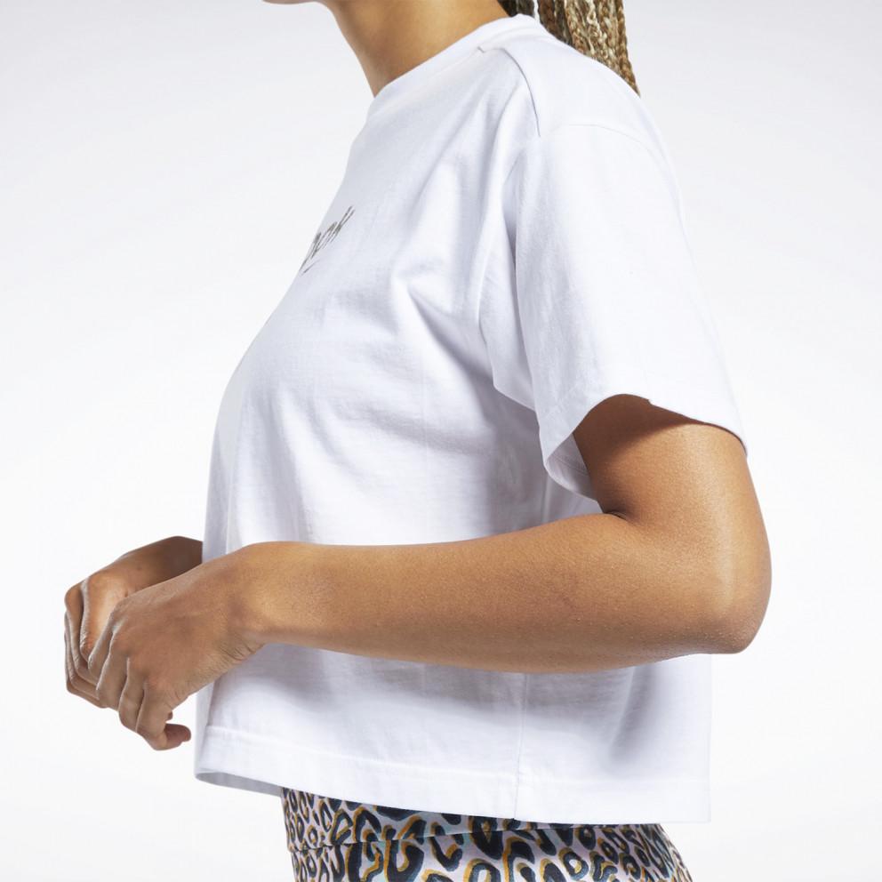 Reebok Classics Animal-Print Graphic Women's T-Shirt