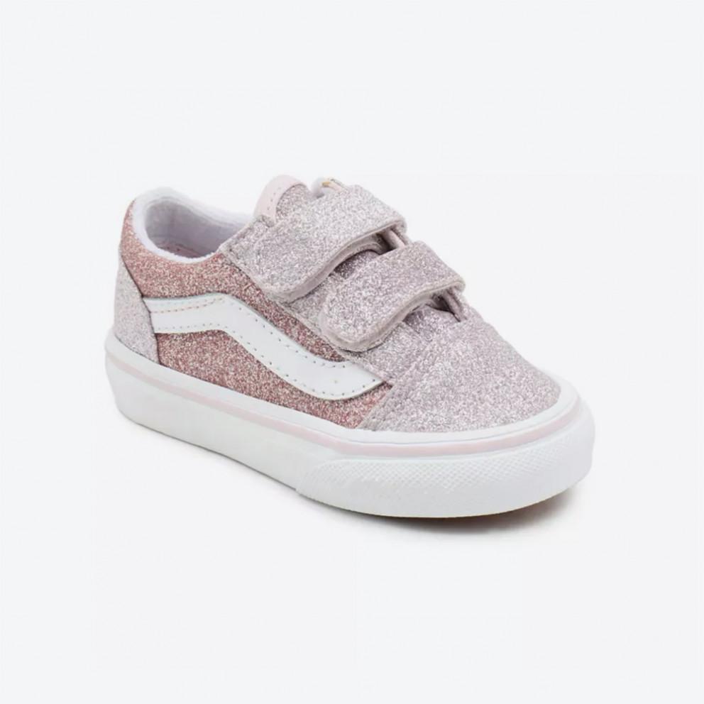Vans Old Skool V Glitter Infants' Shoes