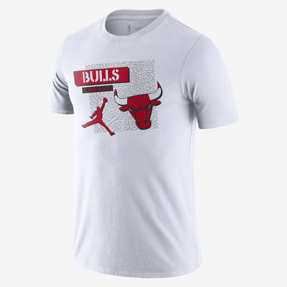 Nike Chicago Bulls Jordan Dri-FIT Μen's T-Shirt