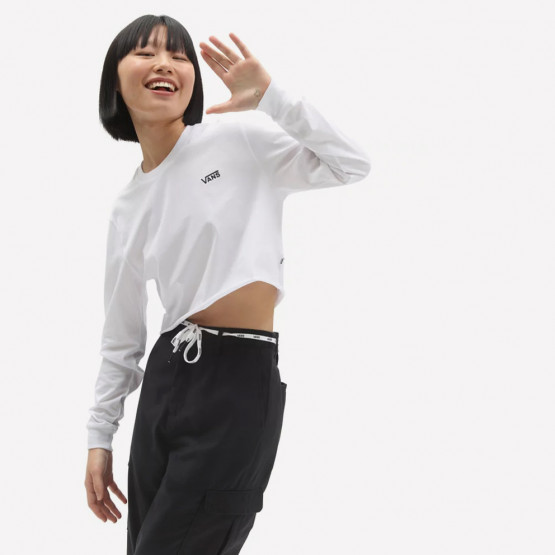 Vans  Junior Women's Cropped Blouse With Long Sleeves