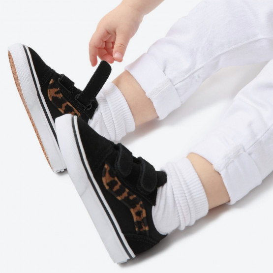Vans Old Skool Leopard Fur Βρεφικά Παπούτσια