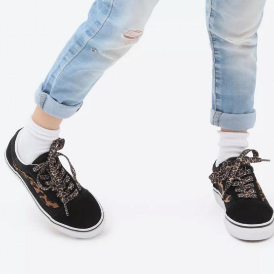 Vans Old Skool Leopard Fur Kids' Shoes