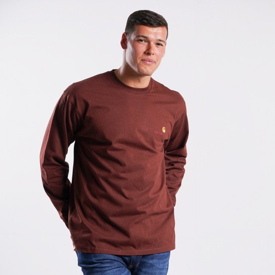 Carhartt WIP American Script Long Sleeve T-Shirt