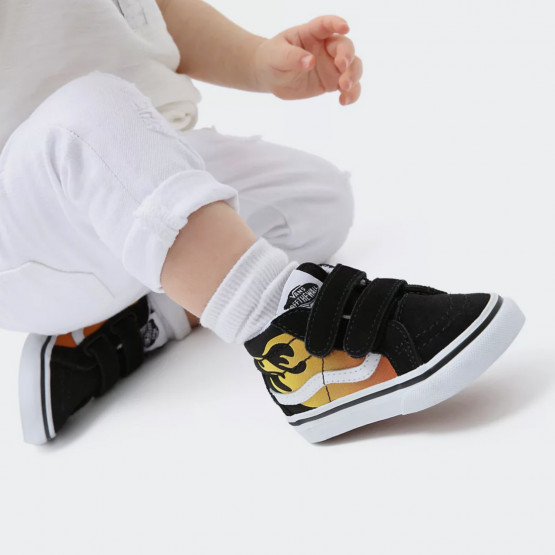 Vans Sk8-Mid Reissue Velcro Βρεφικά Παπούτσια