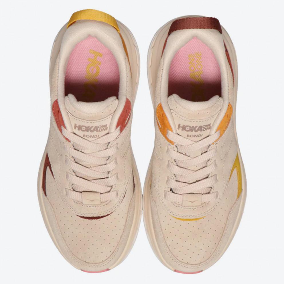 Hoka Lifestyle Bondi L Suede Men's Running Shoes