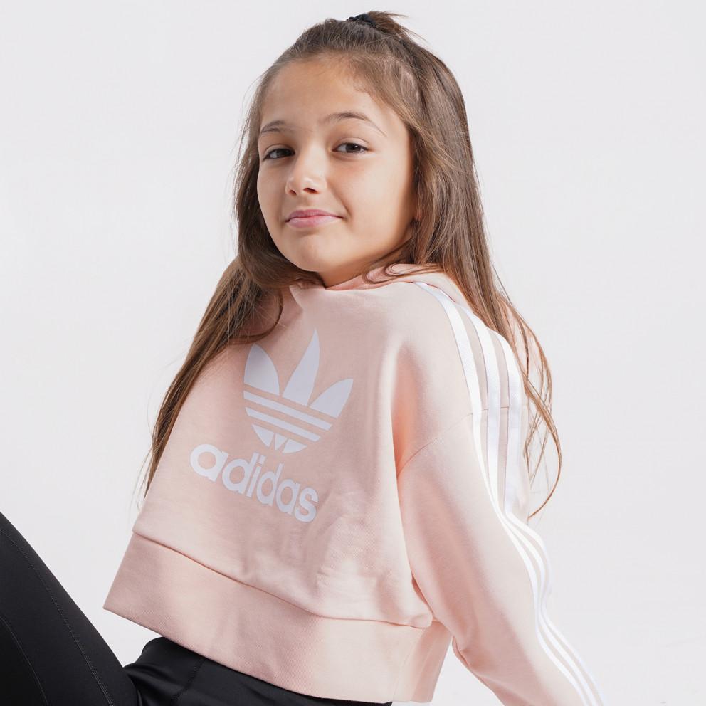 adidas Originals Adicolor Kids' Cropped Hoodie