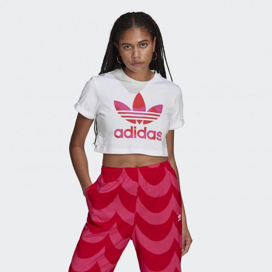 adidas Originals Marimekko Crop Γυναικείο T-Shirt
