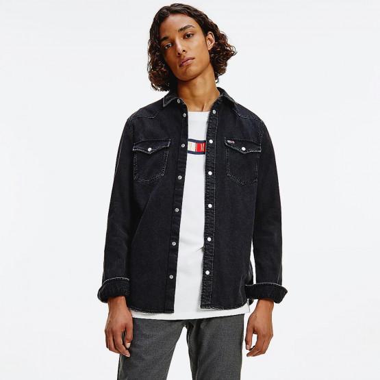 Tommy Jeans Western Denim Ανδρικό Πουκάμισο