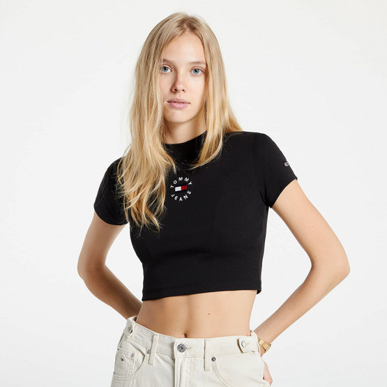 Tommy Jeans Baby Crop Γυναικείο T-shirt