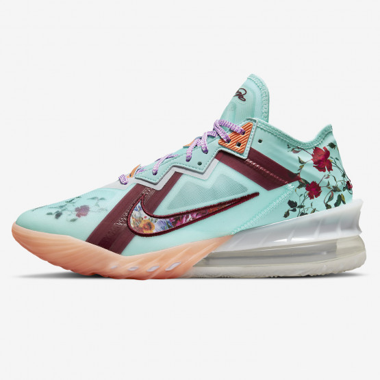 """Nike LeBron 18 Low """"Floral"""" Basketball Shoes"""