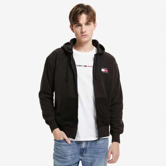 Tommy Jeans Mix Zip Men's Hooded Cardigan