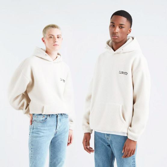 Levis Cozy Up Sahara Khaki Unisex Μπλούζα με Κουκούλα