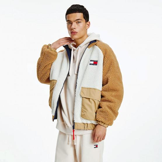 Tommy Jeans Reversible Men's Sherpa Jacket