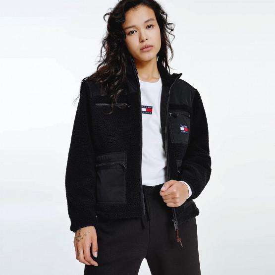 Tommy Jeans Tjw Sherpa Mix Jacket