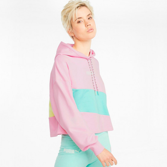 Puma INTL Cropped Women's Blouse With Hood