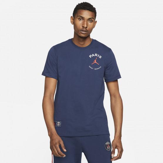 Jordan Paris Saint-Germain Logo Ανδρικό T-Shirt