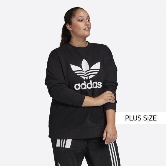 adidas Originals Trefoil Crew Women's Sweatshirt Plus Size