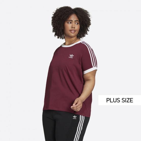 adidas Originals 3-Stripes Γυναικείο Plus Size T-shirt