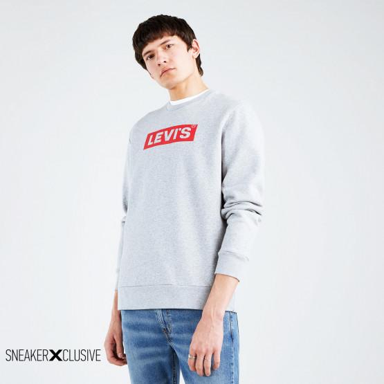 Levis Graphic Crew Ανδρική Μπλούζα Με Μακρύ Μανίκι