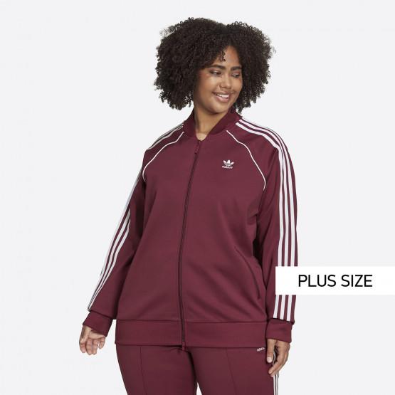 adidas Originals Primeblue Sst Plus Size Γυναικεία Ζακέτα