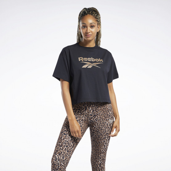 Reebok Classics Animal-Print Graphic Γυναικείο T-Shirt
