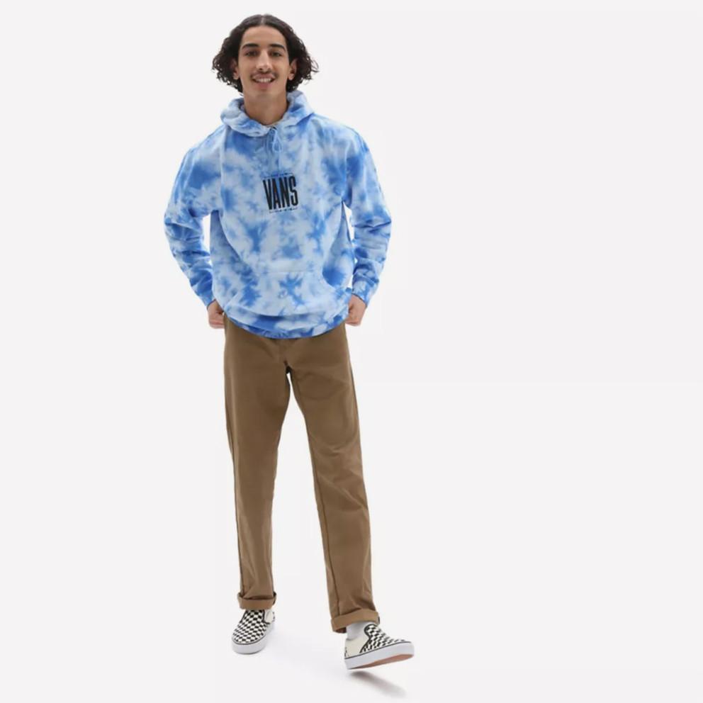 Vans Tall Type Tie Dye Ανδρική Μπλούζα με Κουκούλα