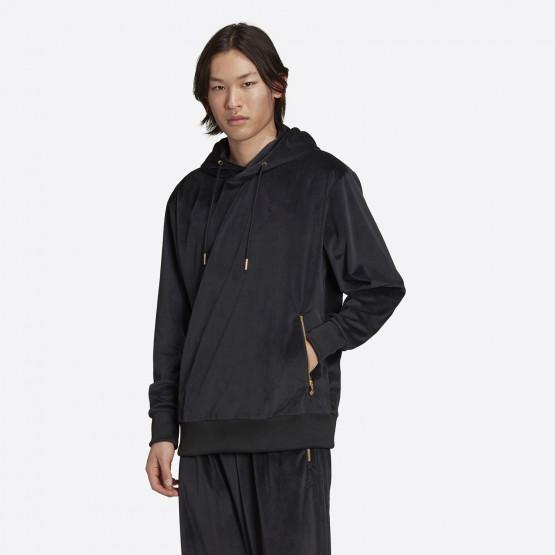 adidas Originals Adicolor Velour Ανδρική Μπλούζα με Κουκούλα