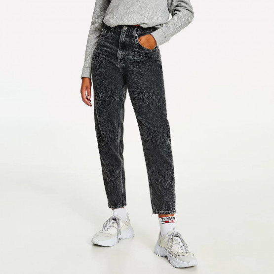 Tommy Jeans Mom Ultra High Rise Tapered Faded Γυναικείο Jean Παντελόνι (Μήκος 30L)