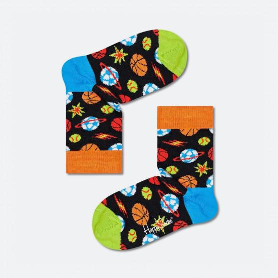 Happy Socks Kids Sporty Space Sock