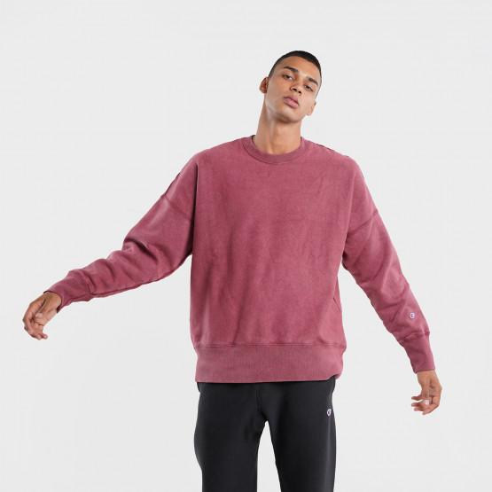 Champion Reverse Weave Crewneck Ανδρική Μπλούζα Φούτερ