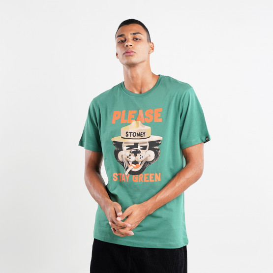 The Dudes Stay Green Ανδρικό T-Shirt