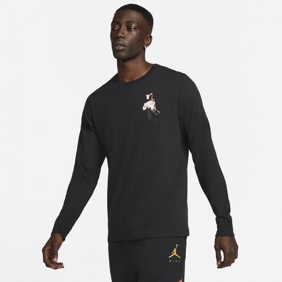 Jordan Jumpman Ανδρική Μακρυμάνικη Μπλούζα