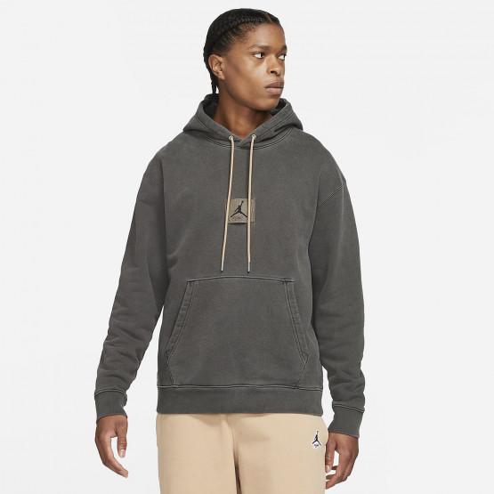 Jordan Heritage Washed Fleece Men's Hooded Sweatshirt