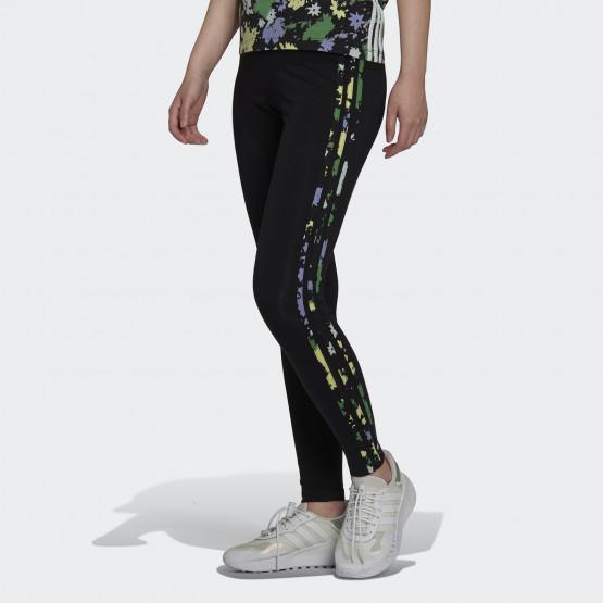 adidas Originals 3-Stripes Floral Γυναικείο Κολάν