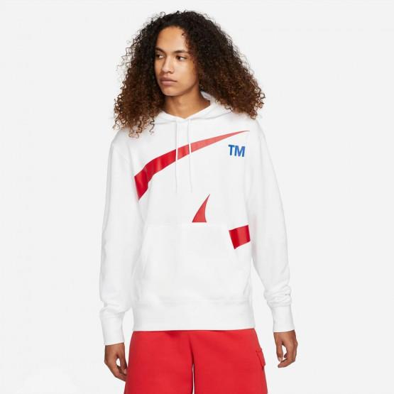 Nike Sportswear Swoosh Ανδρική Μπλούζα με Κουκούλα