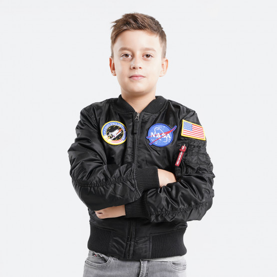 Alpha Industries MA-1VF NASA Kids' Jacket