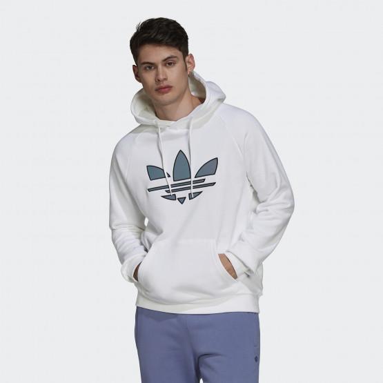 adidas Originals Adicolor Shattered Trefoil Ανδρική Μπλούζα με Κουκούλα