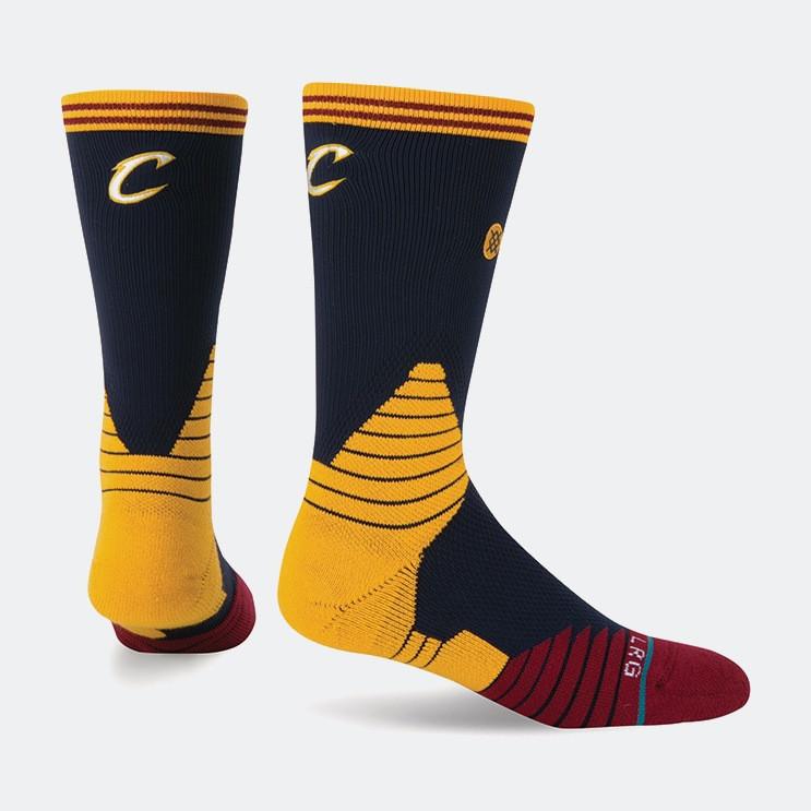 Stance Logo Crew Cavaliers NBA On Court Collection | Ανδρικές Κάλτσες (3023810070_1469)