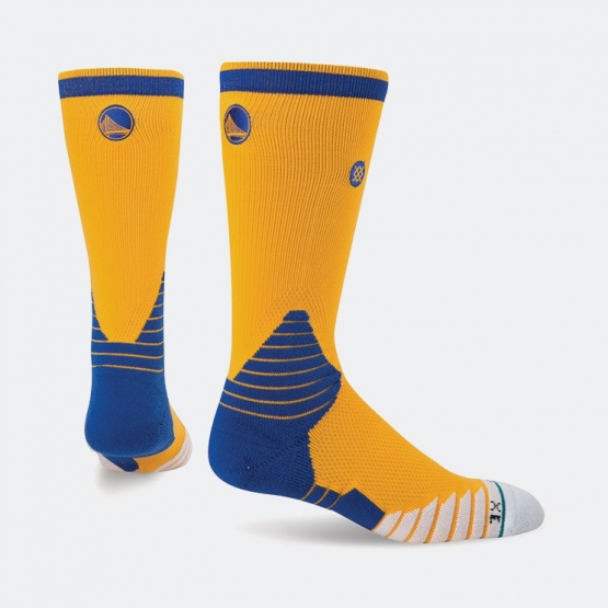 Stance Logo Crew Warriors Nba On Court Collection | Men's Socks