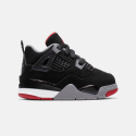 "Jordan Air IV ""Bred"" - Βρεφικά Παπούτσια"