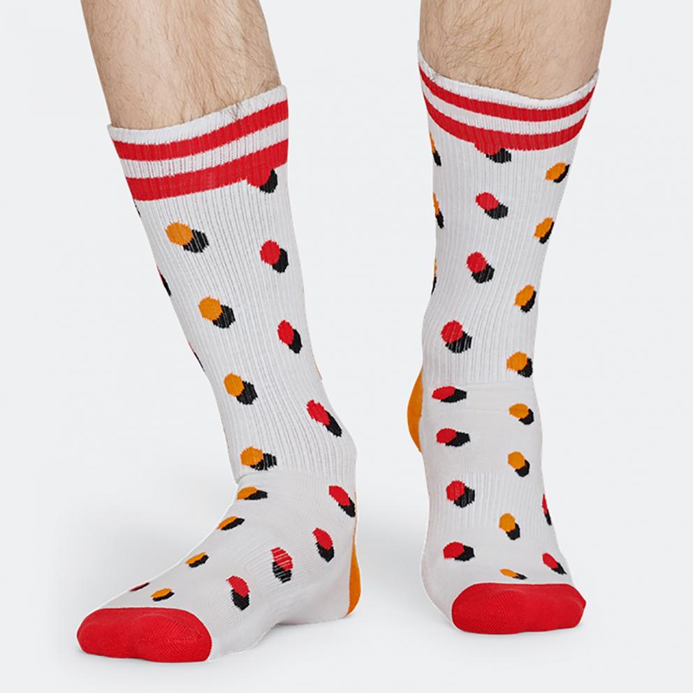 Happy Socks Athletic Shadow Dot Unisex Socks - Unisex Κάλτσες