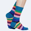 Happy Socks Stripe Unisex Socks - Unisex Κάλτσες