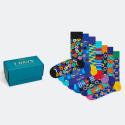 Happy Socks 7-day Gift Box Unisex Socks - Unisex Κάλτσες