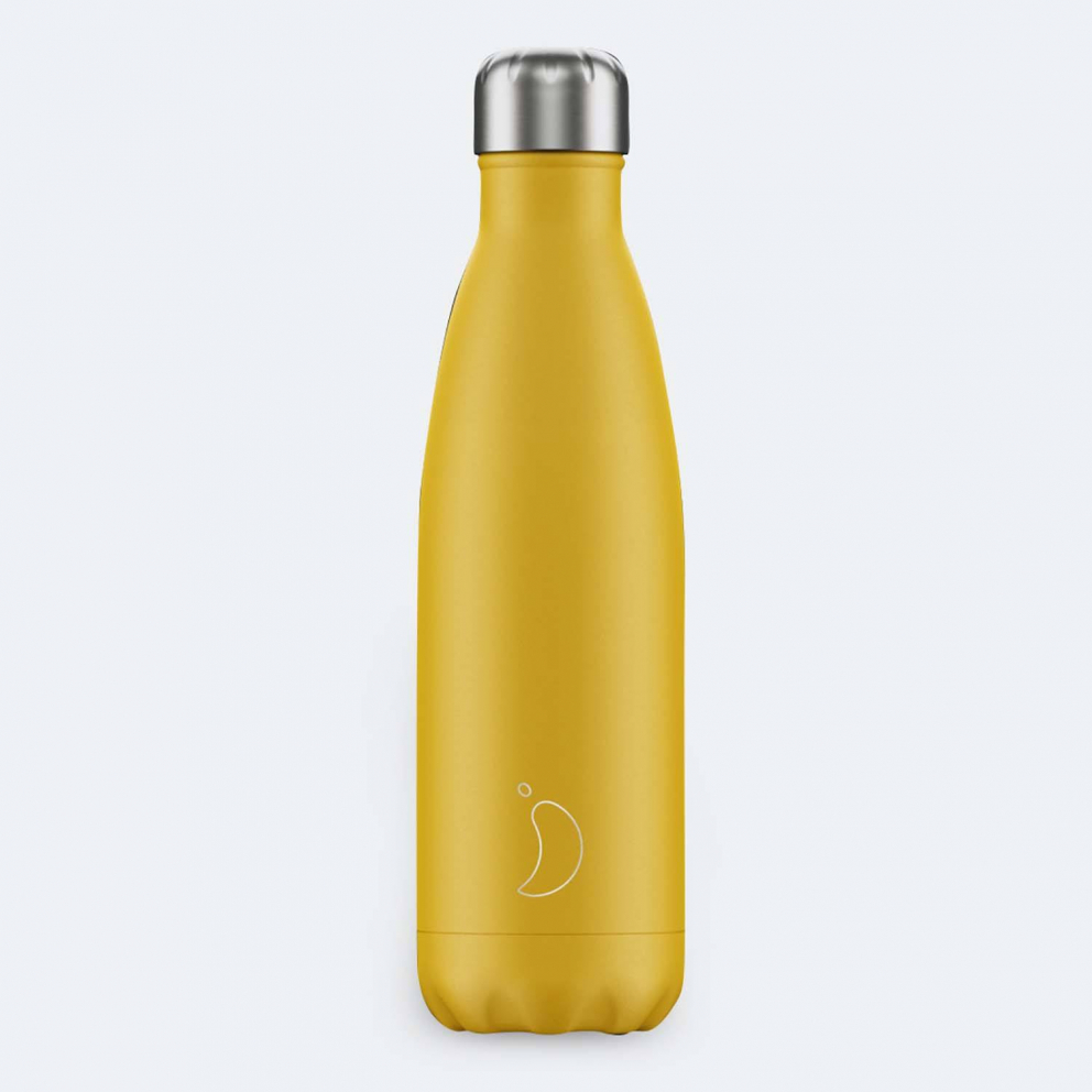 Chilly's Bottles Matte Burnt Yellow 500ml