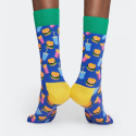 Happy Socks Hamburger Socks - Unisex Κάλτσες