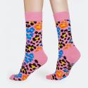 Happy Socks Multi Leopard Sock - Unisex Κάλτσες